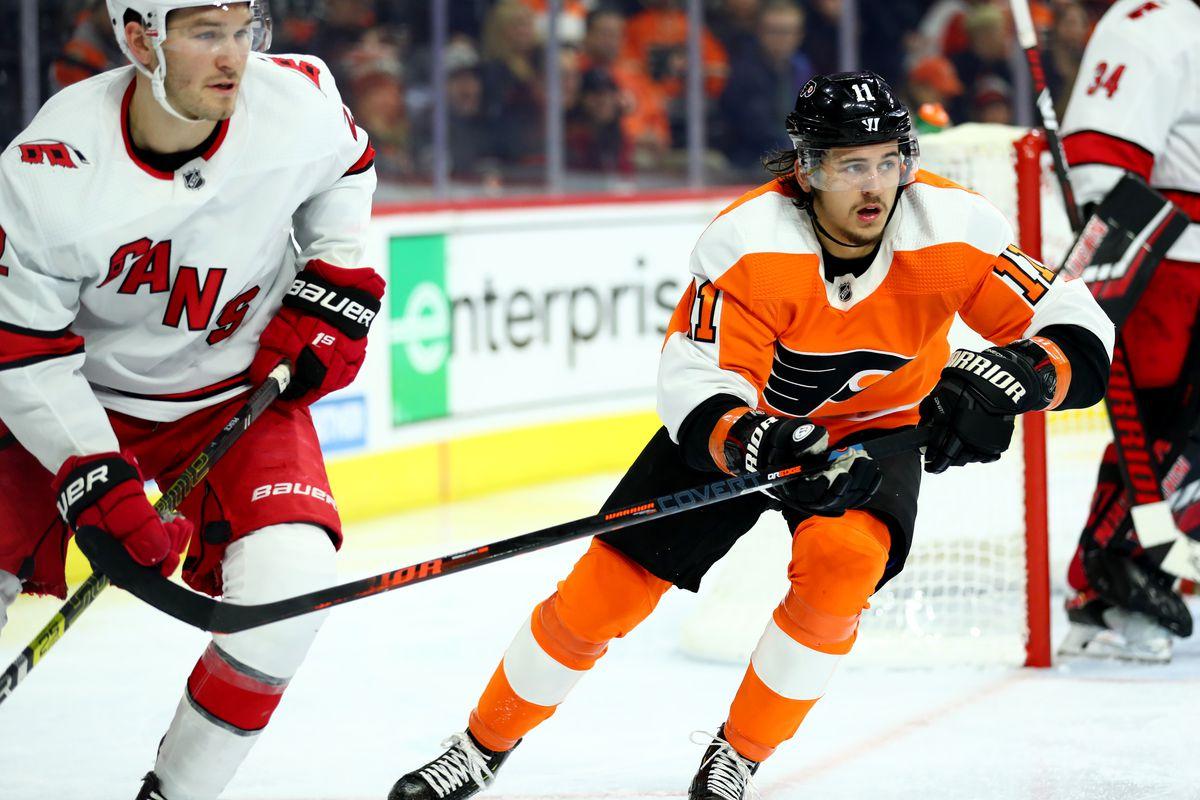 NHL: NOV 05 Hurricanes at Flyers