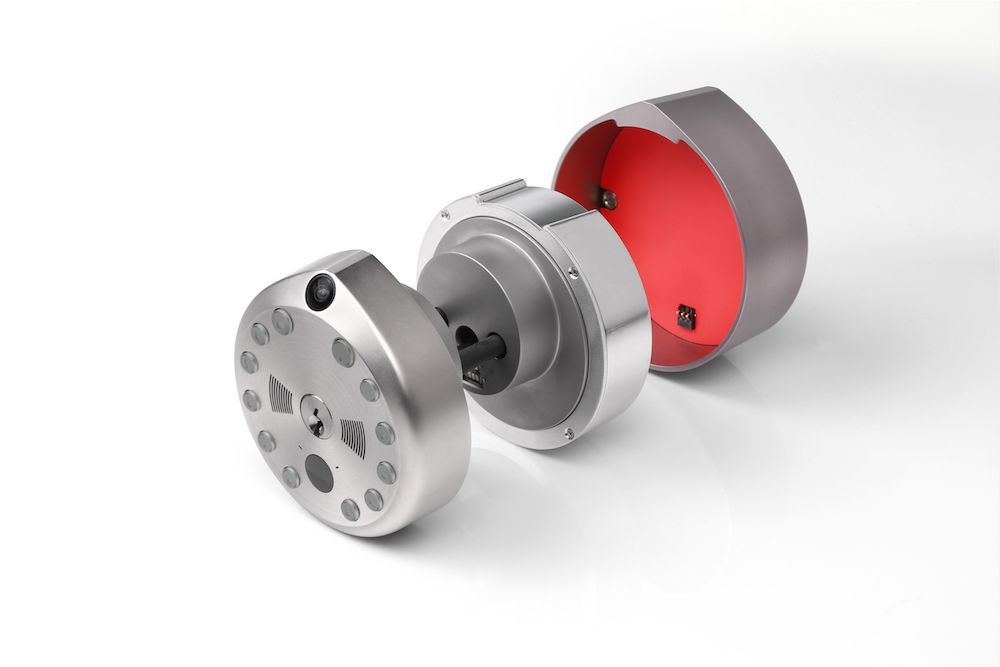 Smart lock product shot