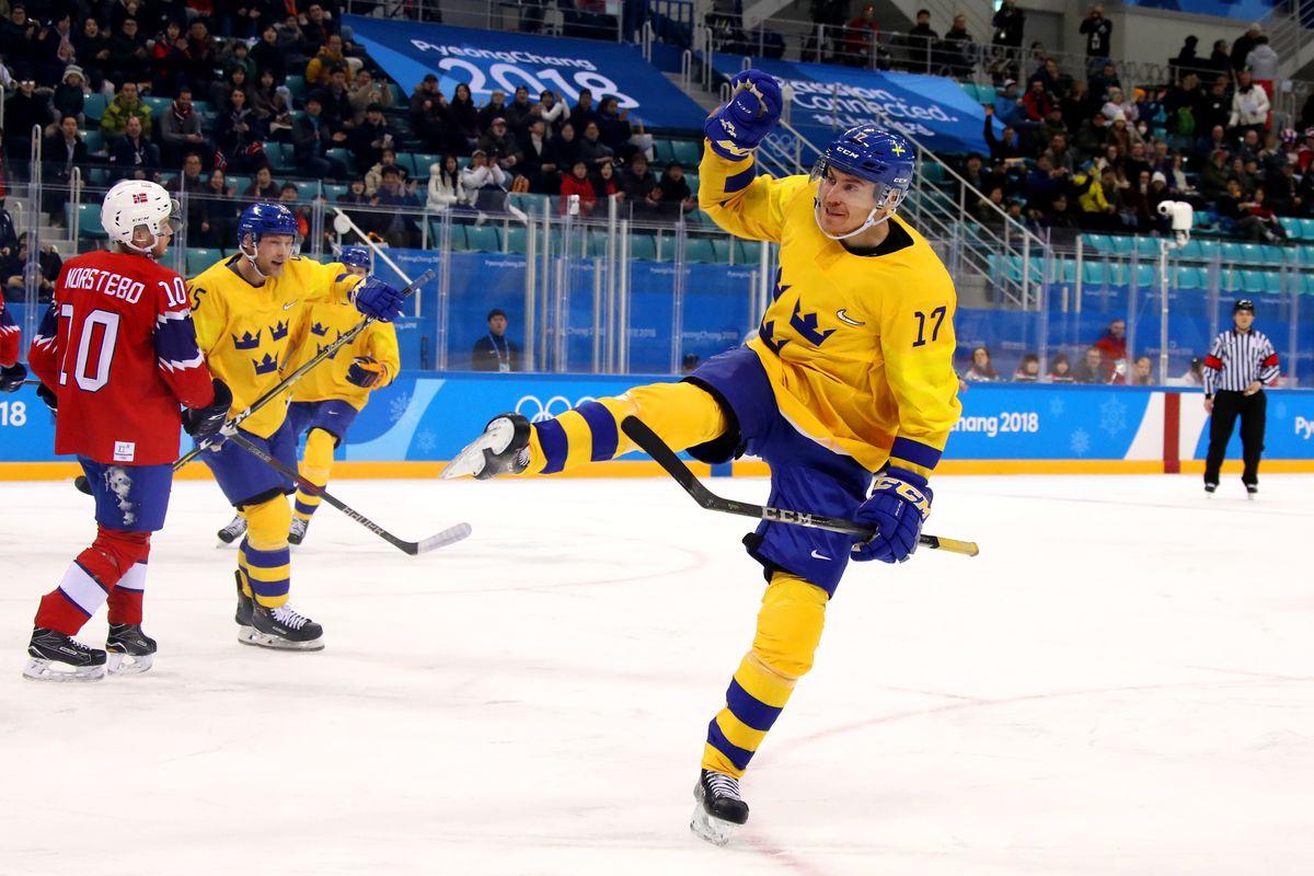 Ice Hockey - Winter Olympics Day 6 - Norway v Sweden