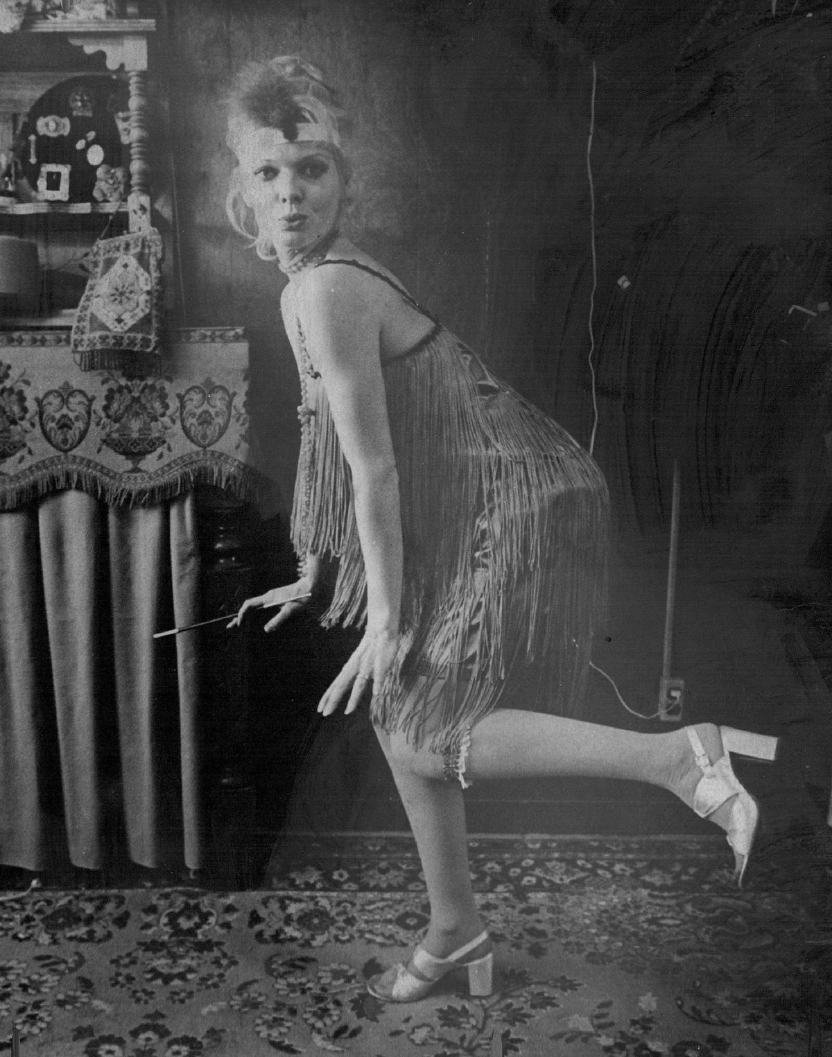 flappers didn t really wear fringed dresses racked