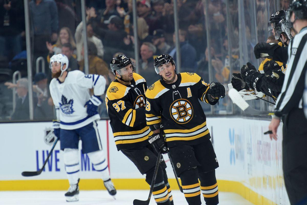 NHL: Toronto Maple Leafs at Boston Bruins