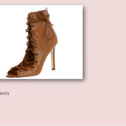 Alison boot, $485.