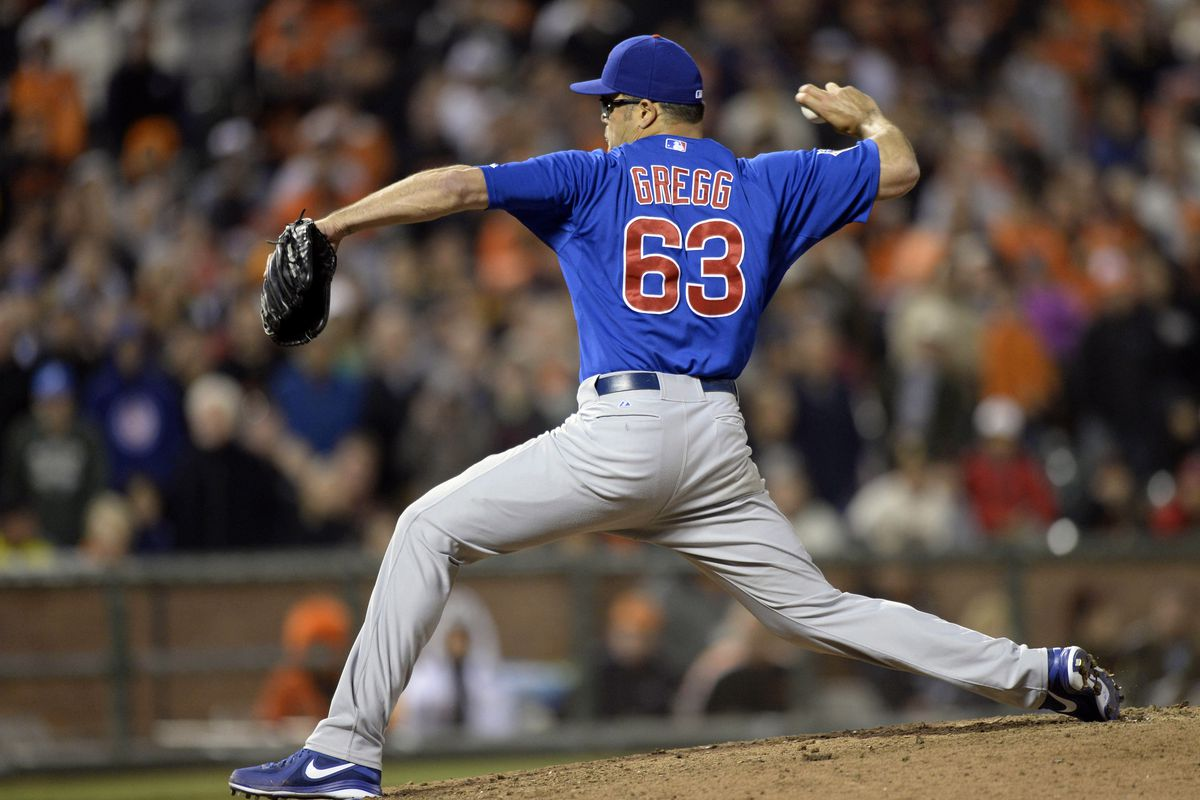 Kevin Gregg won't be a Cub for much longer.