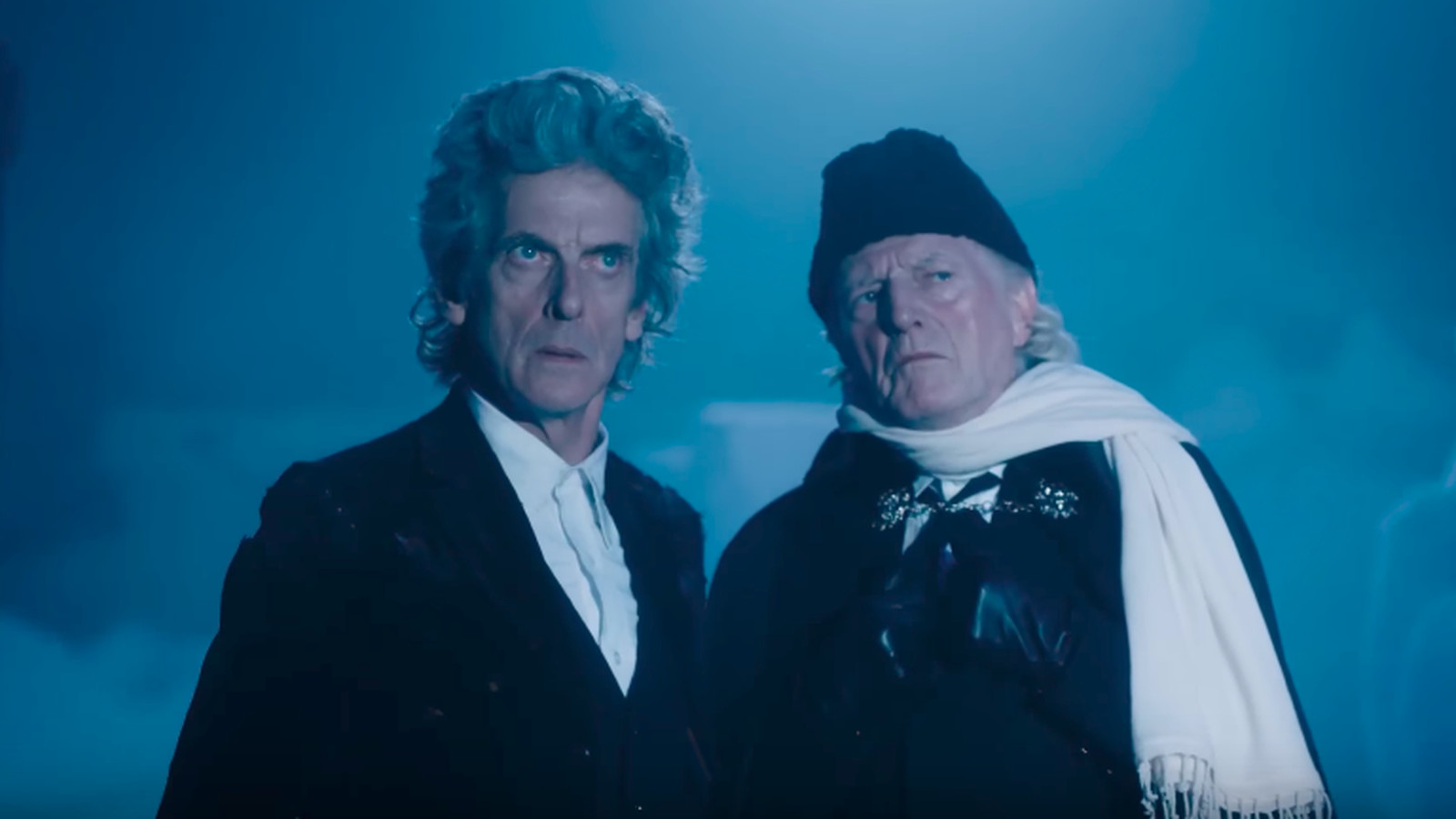 The First and Twelfth Doctors team up in this Doctor Who Christmas ...