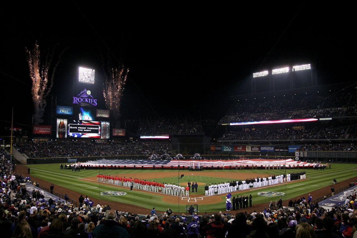 Philadelphia Phillies v Colorado Rockies, Game 3