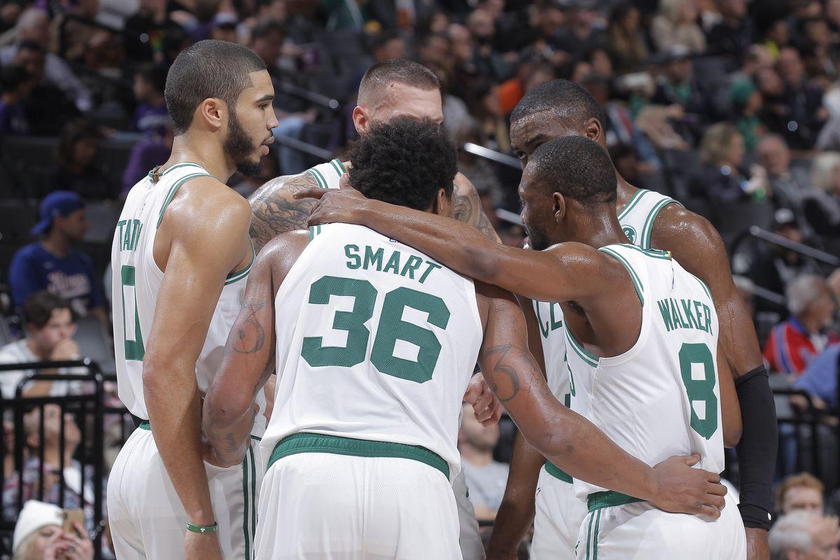 Boston Celtics v Sacramento Kings