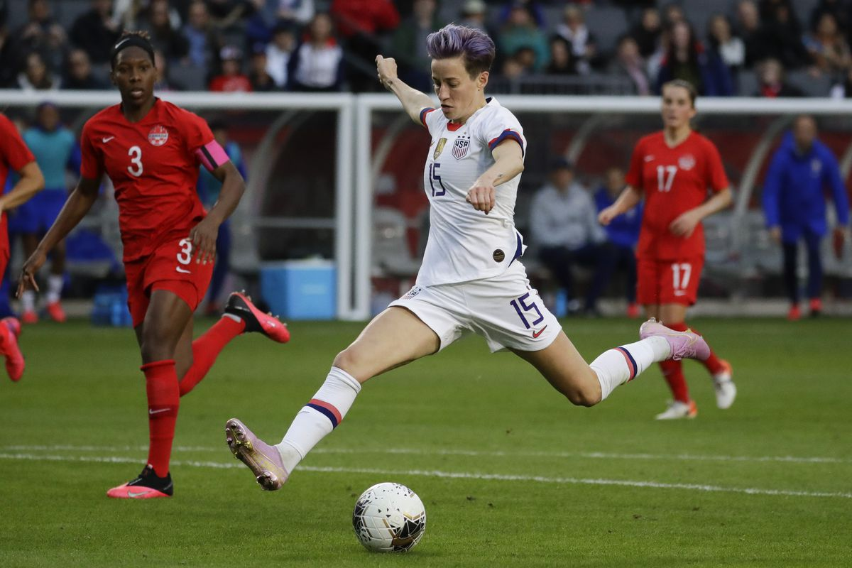 Megan Rapinoe is among the players seeking damages from U.S. Soccer.