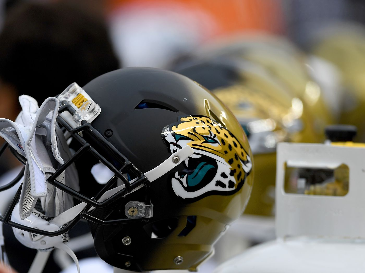 d096ac4ccb7 The Jaguars Are Finally Ditching Their Monstrous Two-Toned Helmets.  Jacksonville ...