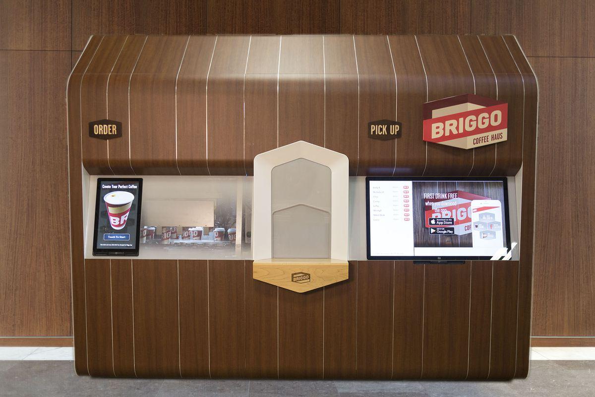 Briggo Coffee's setup