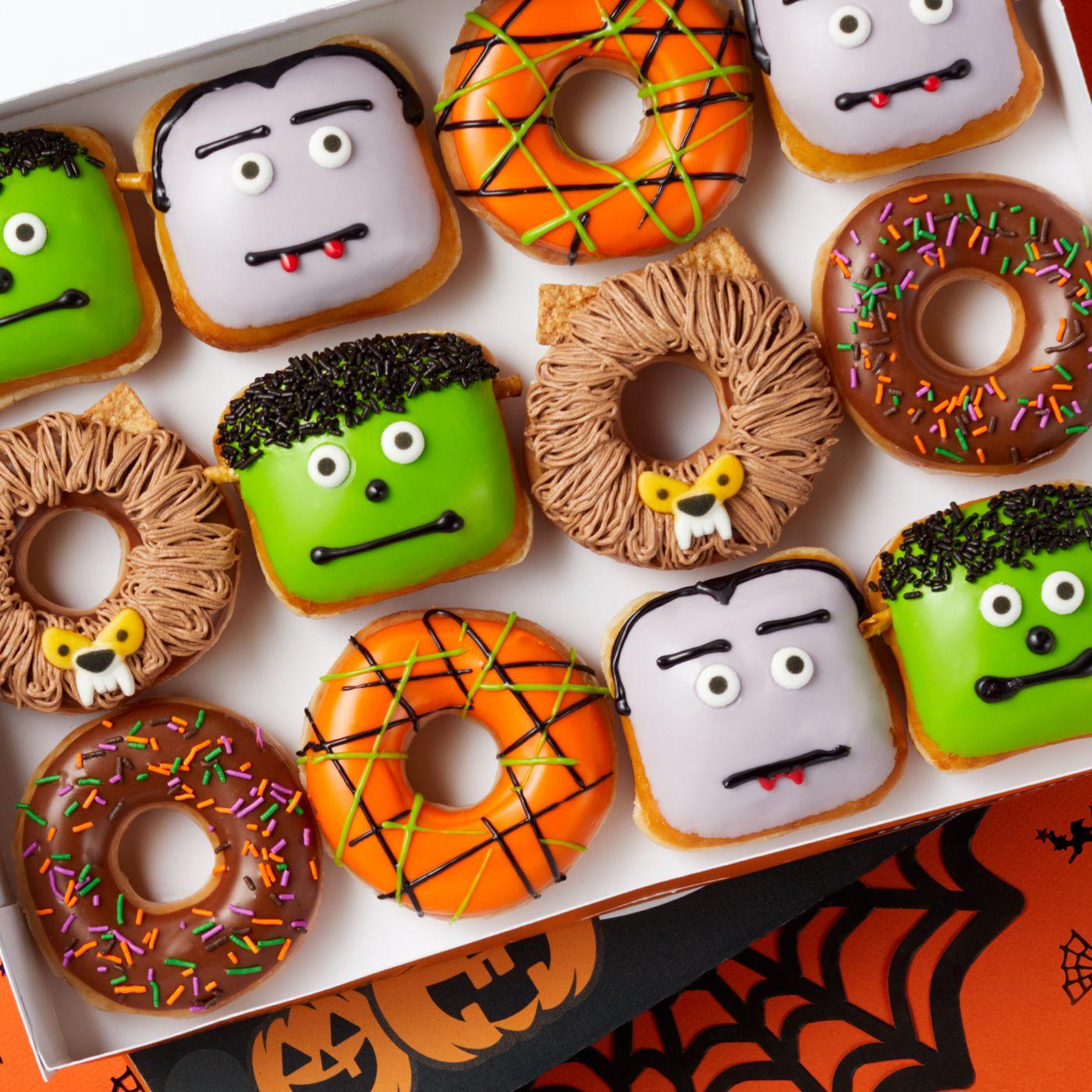 Krispy Kreme Halloween Doughnuts 2020 Flavors Krispy Kreme releases new Halloween theme doughnuts   Deseret News
