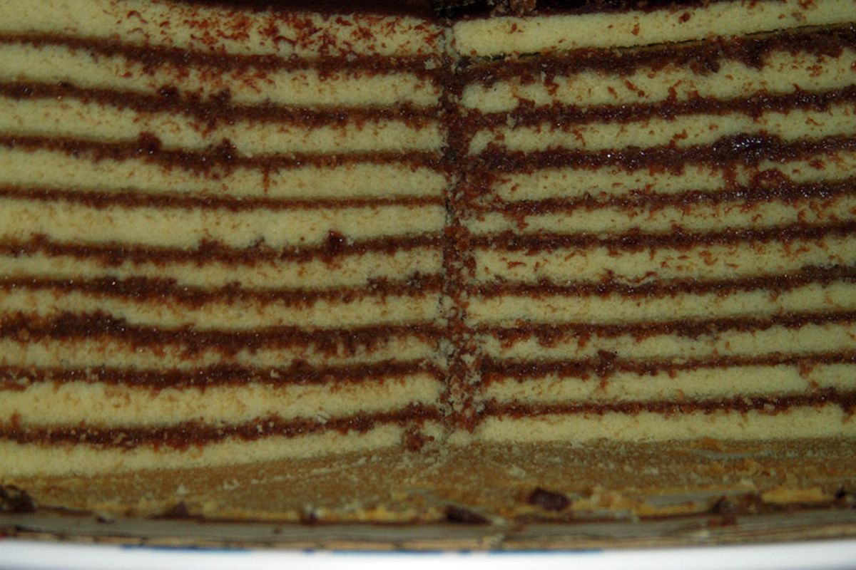 Ten layers, one delicious cake.