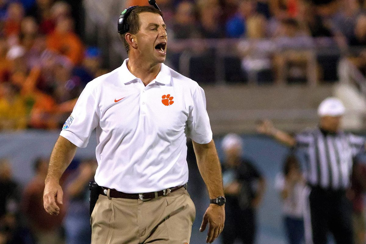 Poor Dabo just doesn't get it.