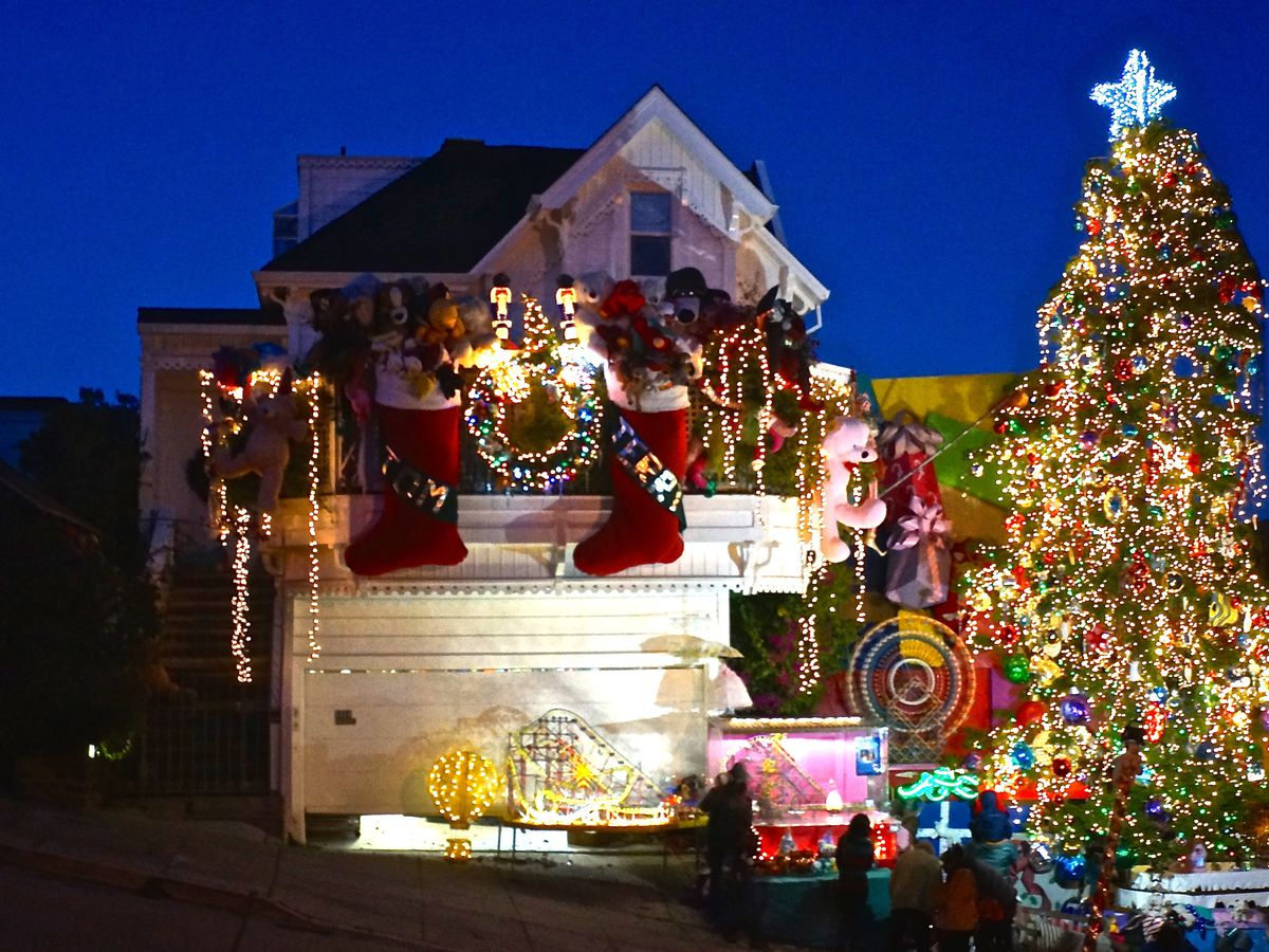 Christmas In San Francisco.Christmas Lights In The Bay Area Where To See Them Curbed Sf
