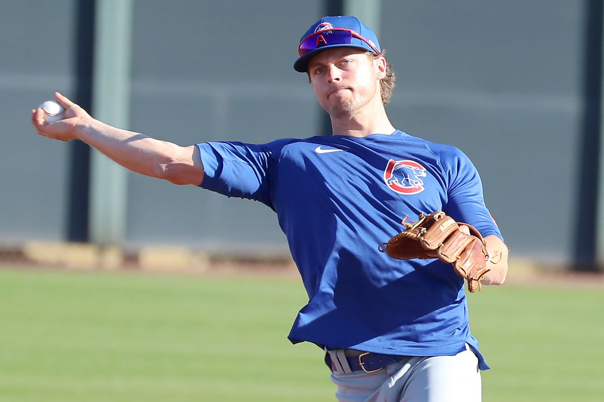 Nico Hoerner will be competing for the Cubs' second base job.