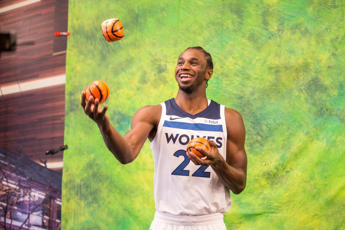 NBA: Minnesota Timberwolves-Media Day
