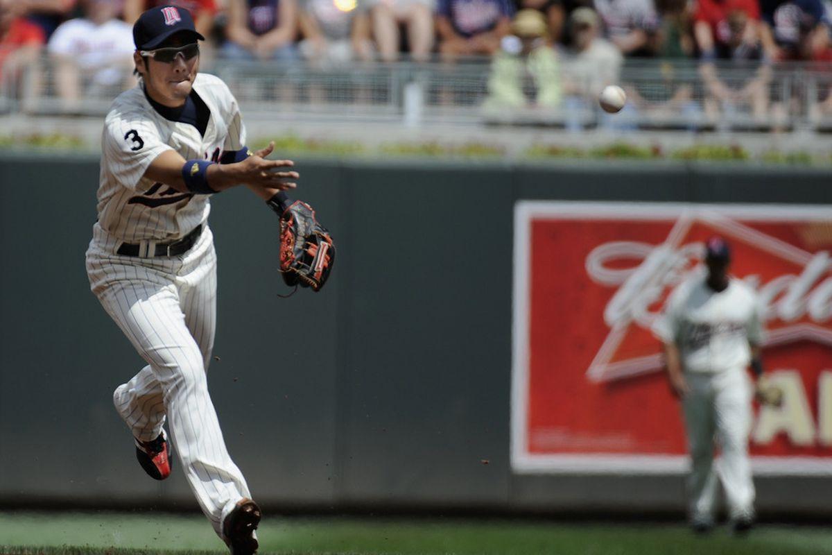 Tsuyoshi Nishioka returns to Major League Baseball.