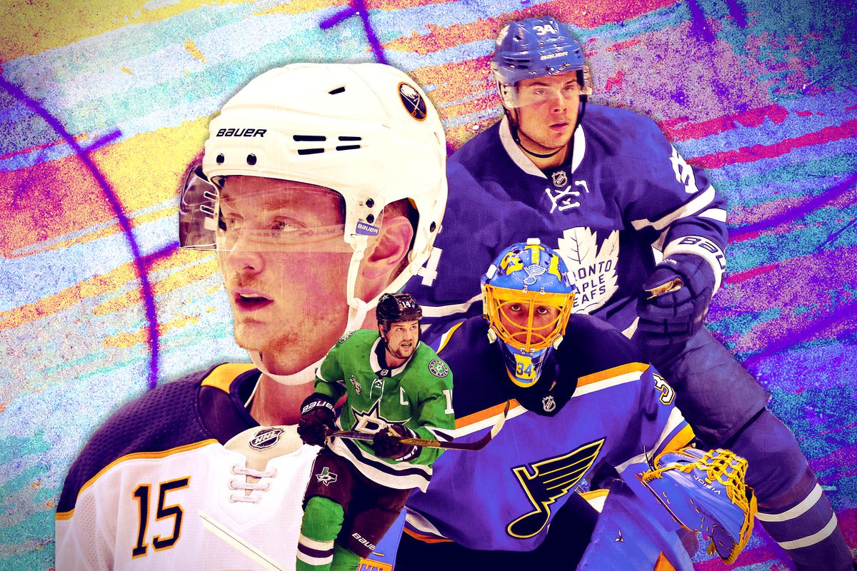 Various NHL players