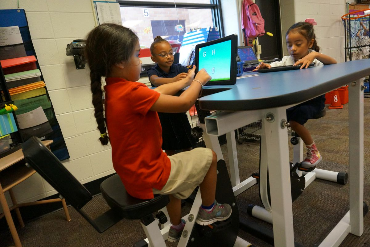 Indianapolis Public Schools School 43 hopes to add more flexible seating and technology to classrooms.