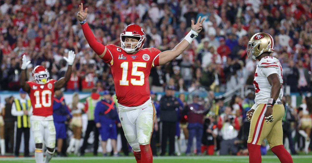 The Chiefs set a record with their Super Bowl comeback