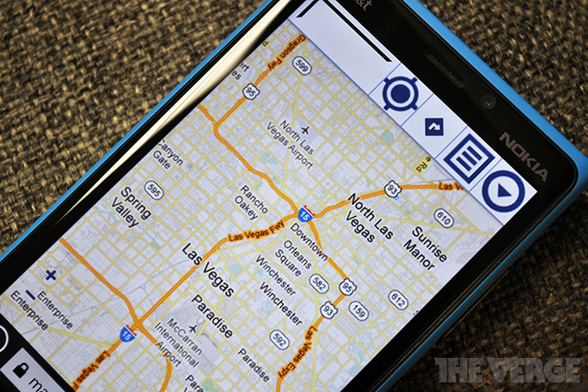 Google Maps web version returns for Windows Phone users - The Verge