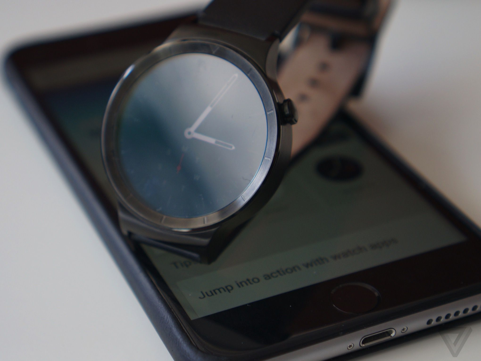 Android Wear smartwatches come to the iPhone   The Verge
