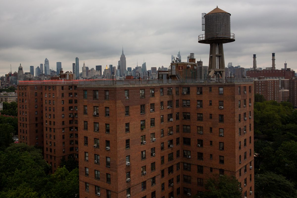 The Wald Houses in the East Village, Aug. 19, 2020.