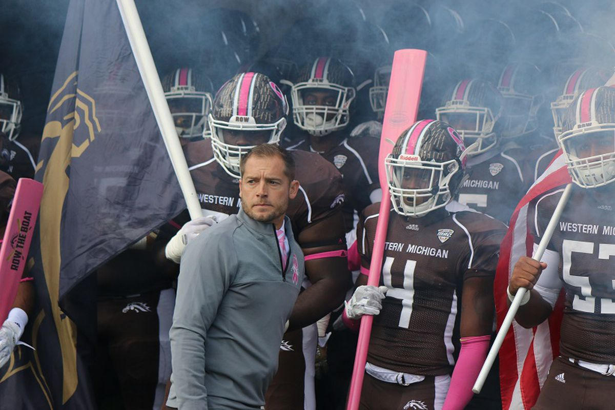 Eastern Michigan at Western Michigan in Pictures