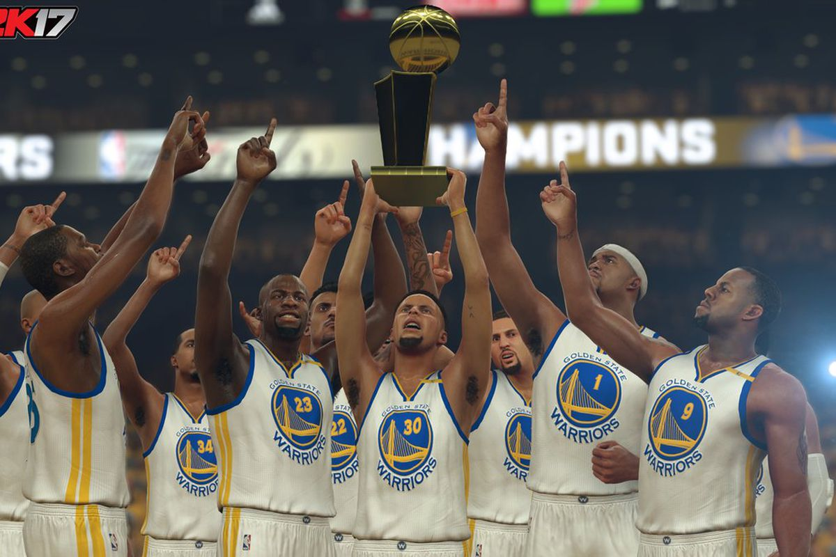 The All Time Golden State Warriors Team According To 2k Sports Golden State Of Mind