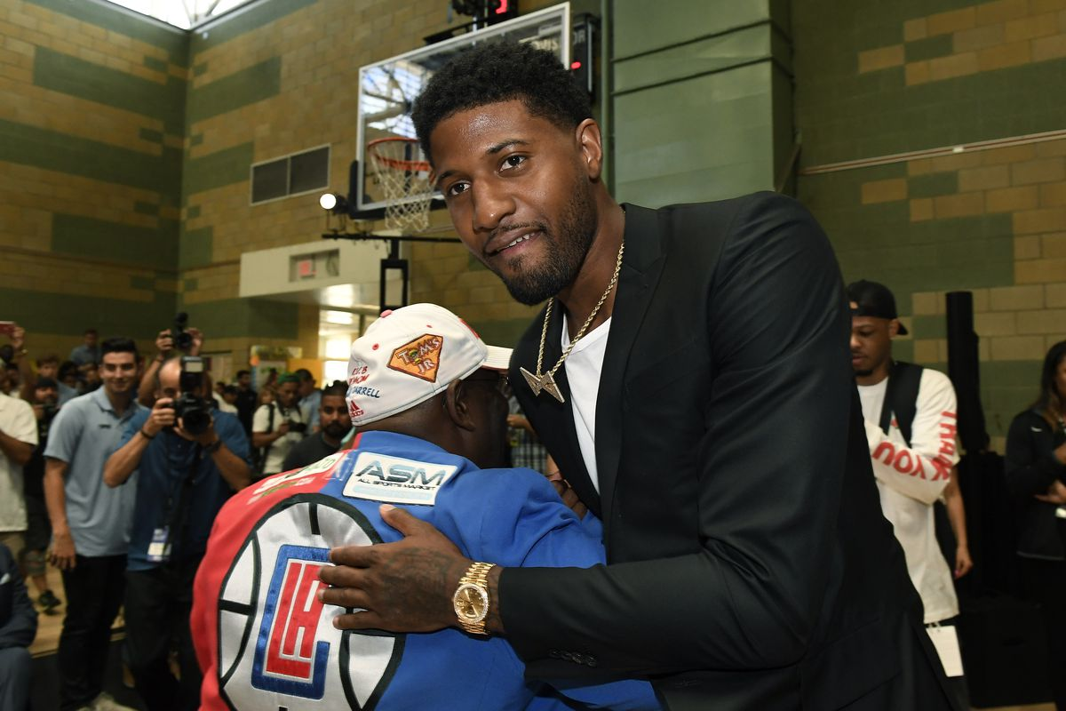 Los Angeles Clippers Introduce Kawhi Leonard & Paul George