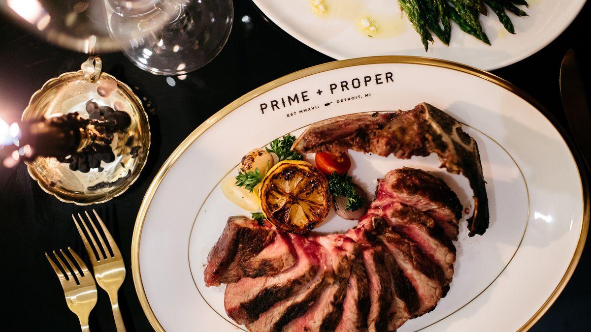 Inside Prime Proper Detroit S New Steak Fortress