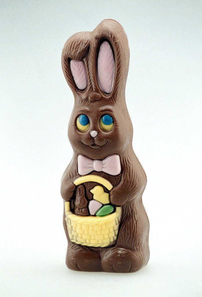 Chocolate bunnies are a must in many Easter baskets. It's easy to eat an entire bunny in a sitting, which could be eight days worth of suggested sugar.   Boyzell Hosey/ St. Petersburg Times, via AP