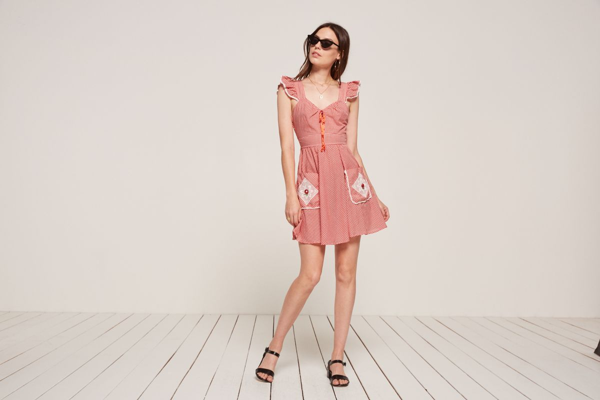 A picnic dress from Reformation