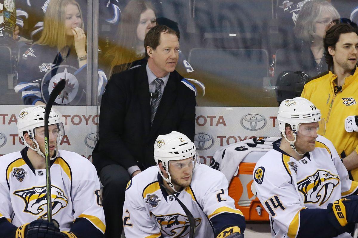 NHL: Nashville Predators at Winnipeg Jets