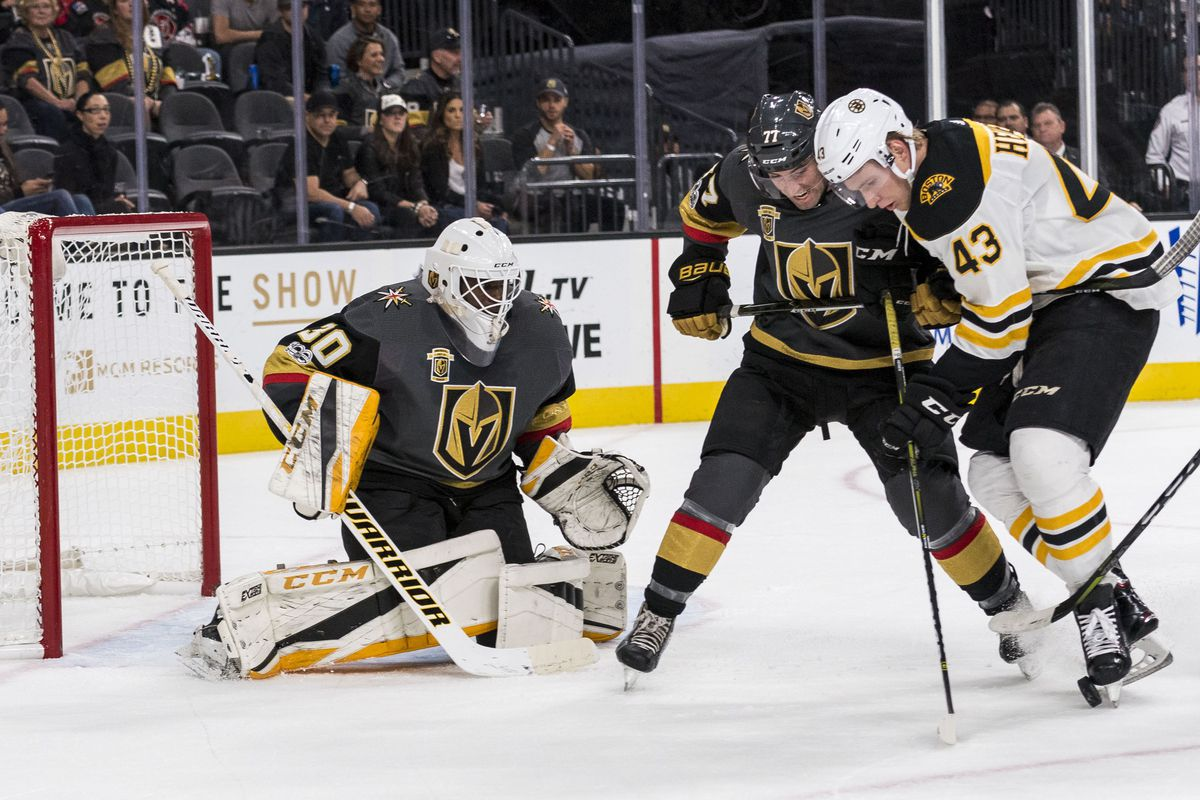 Golden Knights Defeat Bruins 3 1 As Malcolm Subban Earns First