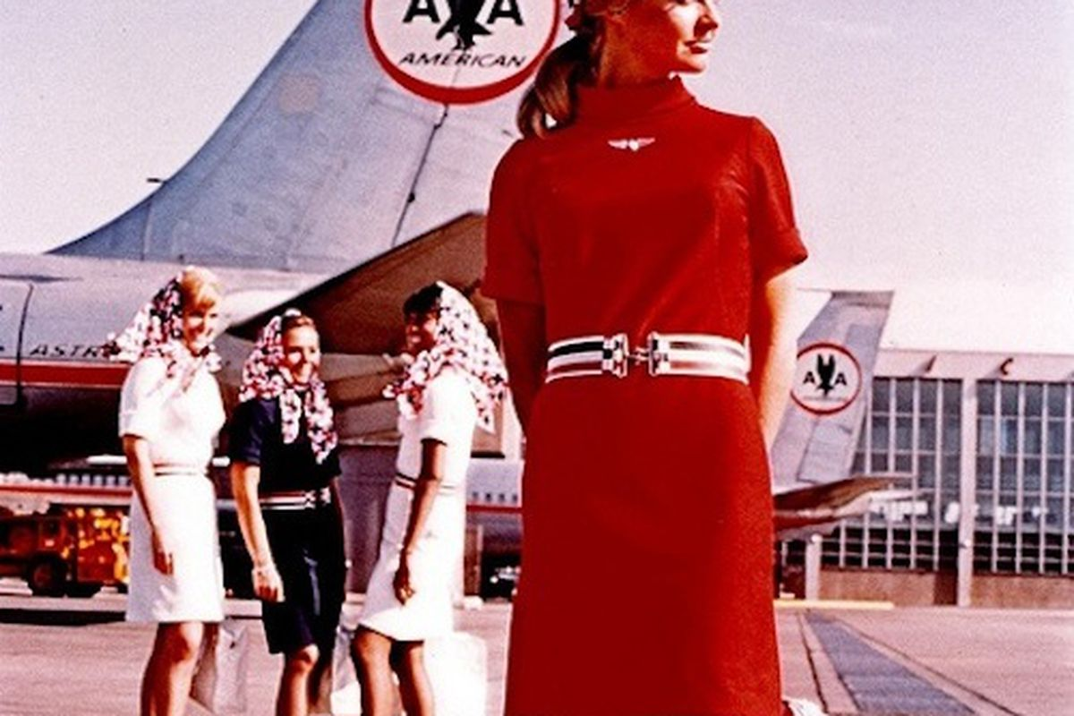 The Best Flight Attendant Uniforms In American History Racked