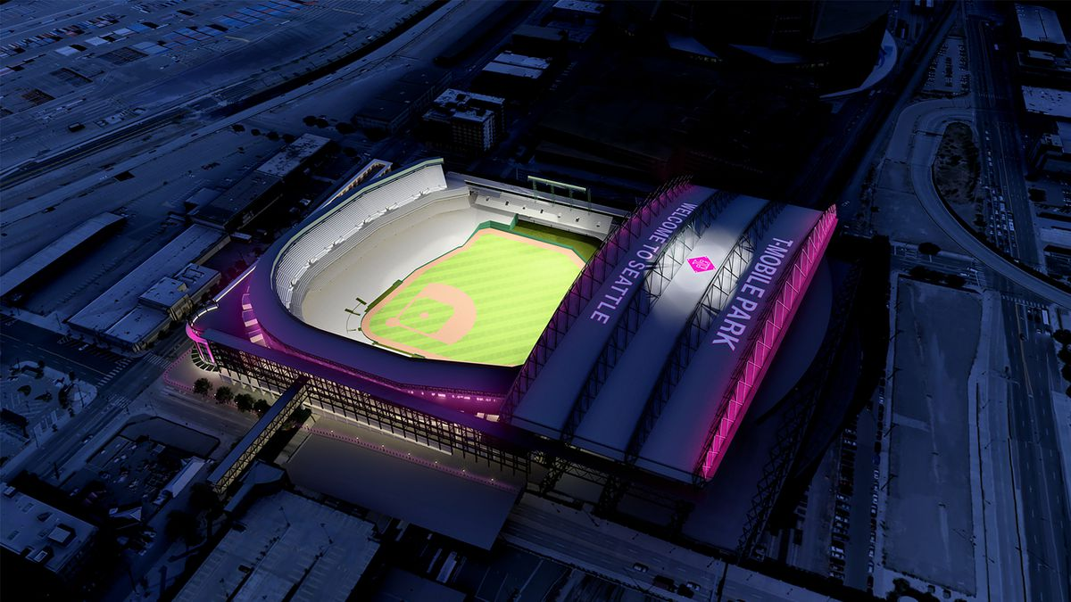 Safeco Field Will Glow Pink As T Mobile Park Curbed Seattle