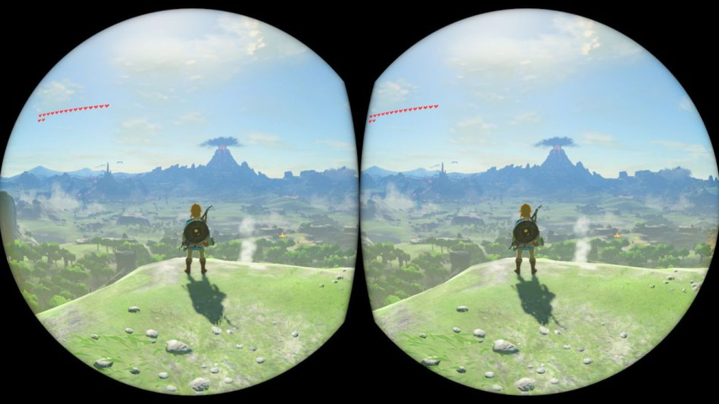Breath of the Wild in VR is an ugly, uncomfortable