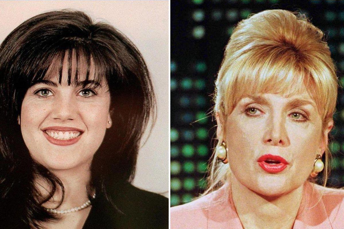 Paula Jones, Monica Lewinsky, and Gennifer Flowers, Bill Clinton scandal figures
