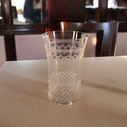 More antique glassware.