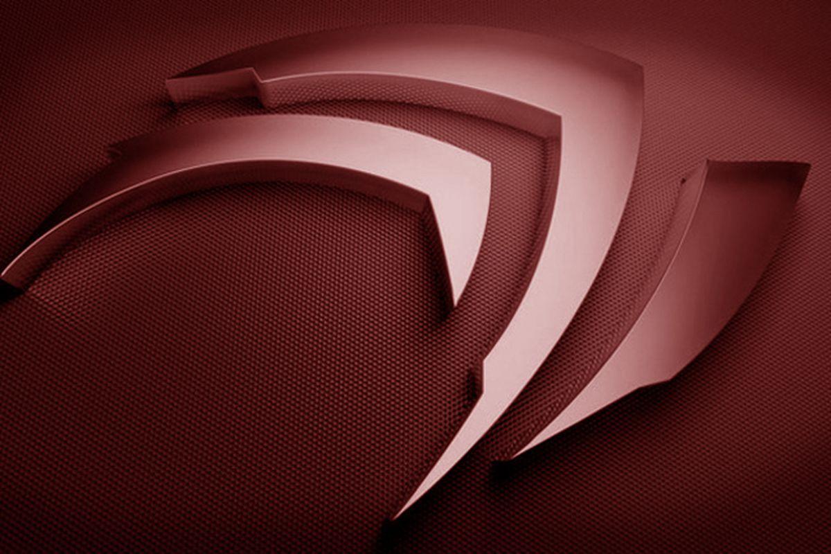 Nvidia logo red