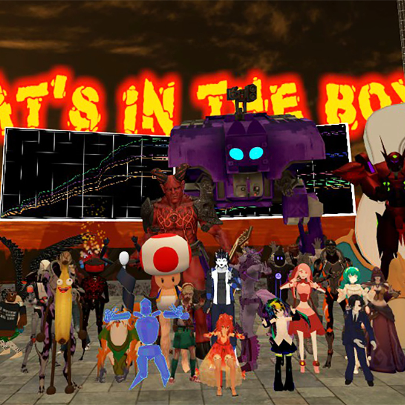 VRChat is a bizarre phenomenon that has Twitch, YouTube