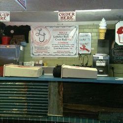 """Lobster Joint at 201 E Houston St via <a href=""""http://eastvillage.thelocal.nytimes.com/2012/08/27/lobster-joint-jumps-into-the-fray-on-houston-street/"""">The Local EV</a>"""