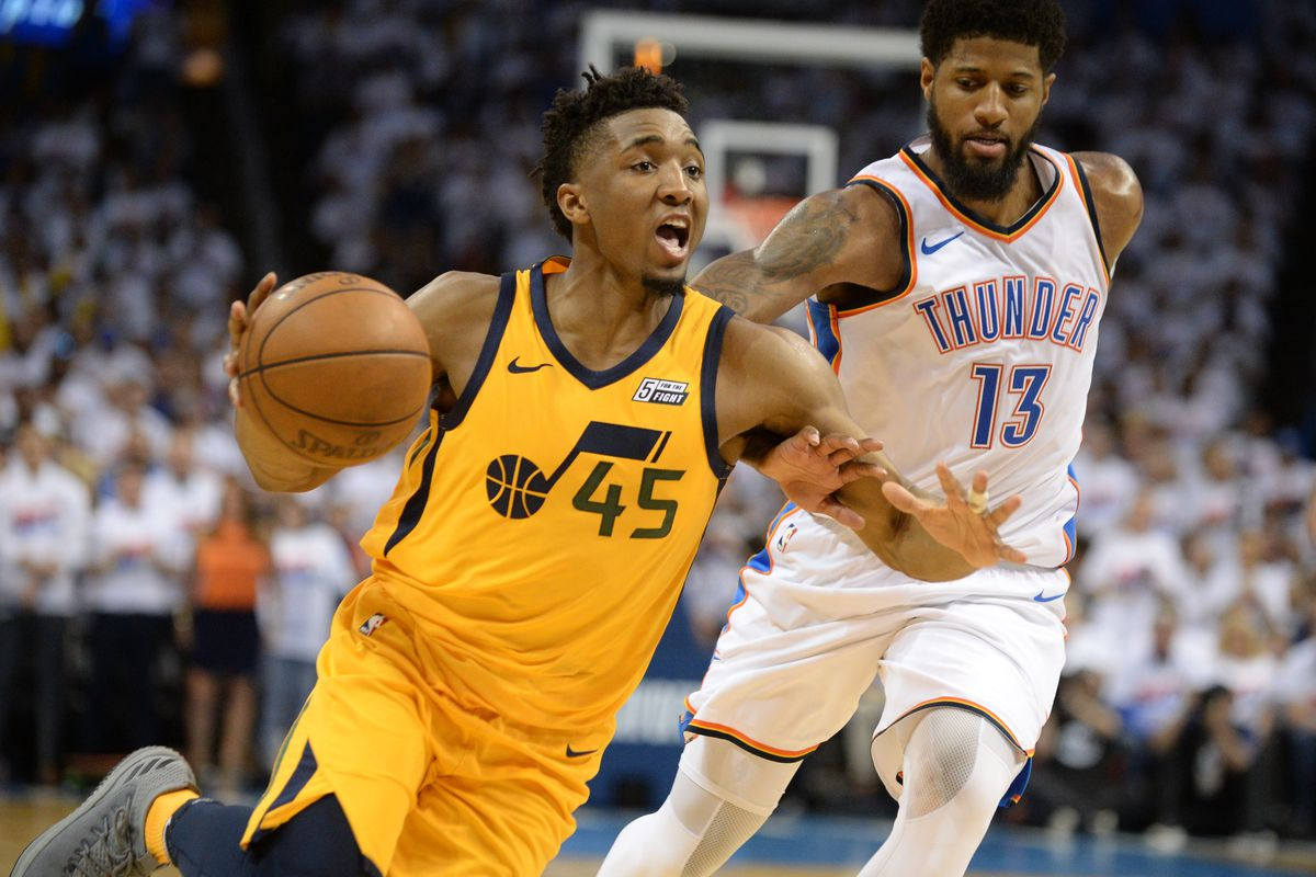 Donovan Mitchell started his playoff career even better than Michael Jordan  did fbca77ade