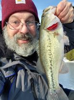 Bob France with a local largemouth bass. Provided photo