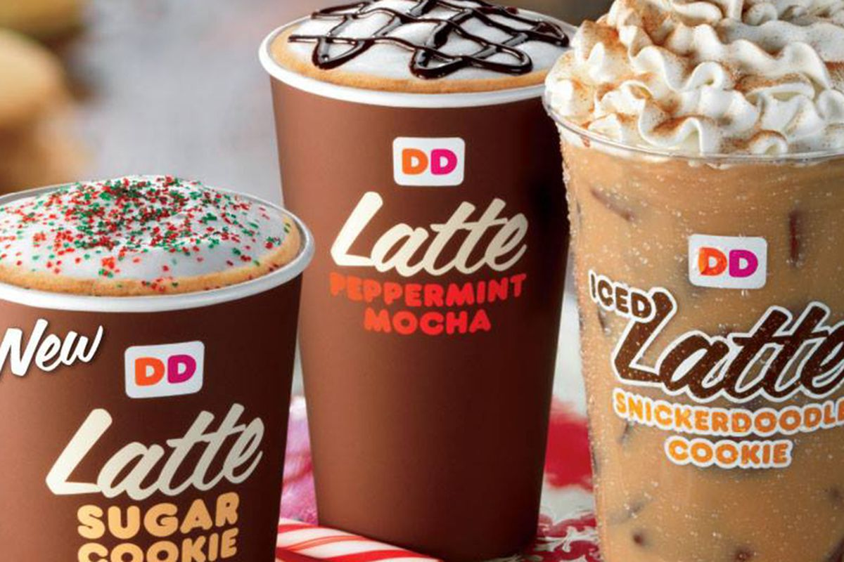 Dunkin' Donuts Is Now Slinging Cookie Flavored Lattes - Eater
