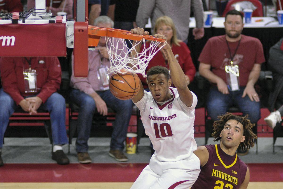 NCAA Basketball: Minnesota at Arkansas