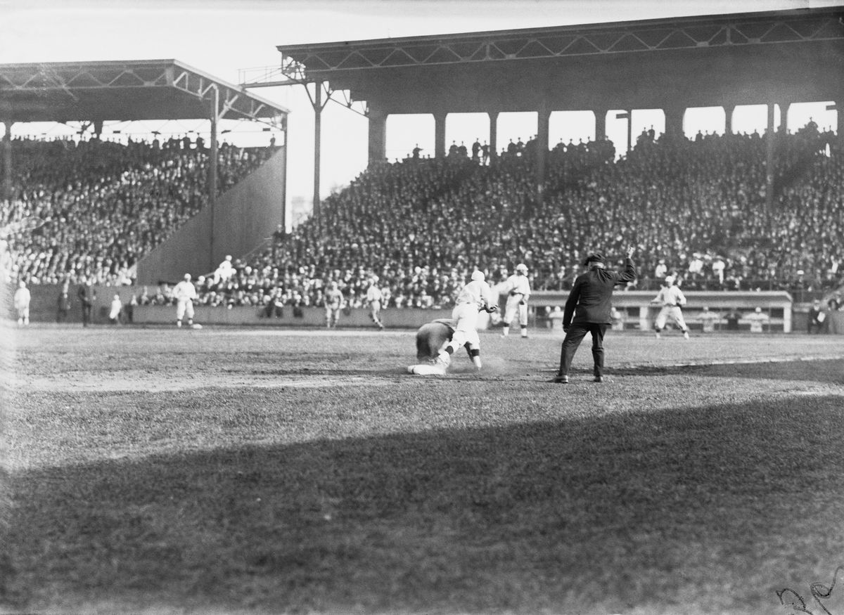 World Series Game in 1918