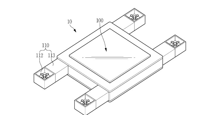 Samsung Patents a Drone that Can Be Controlled by your Eyes