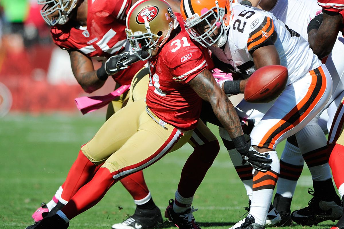 PFF called it a bad day for RB Chris Ogbonnaya against the 49ers.