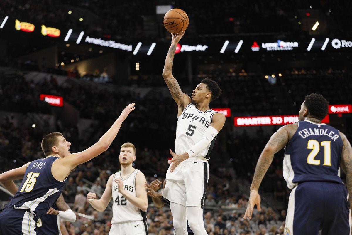 NBA: Preseason-Denver Nuggets at San Antonio Spurs